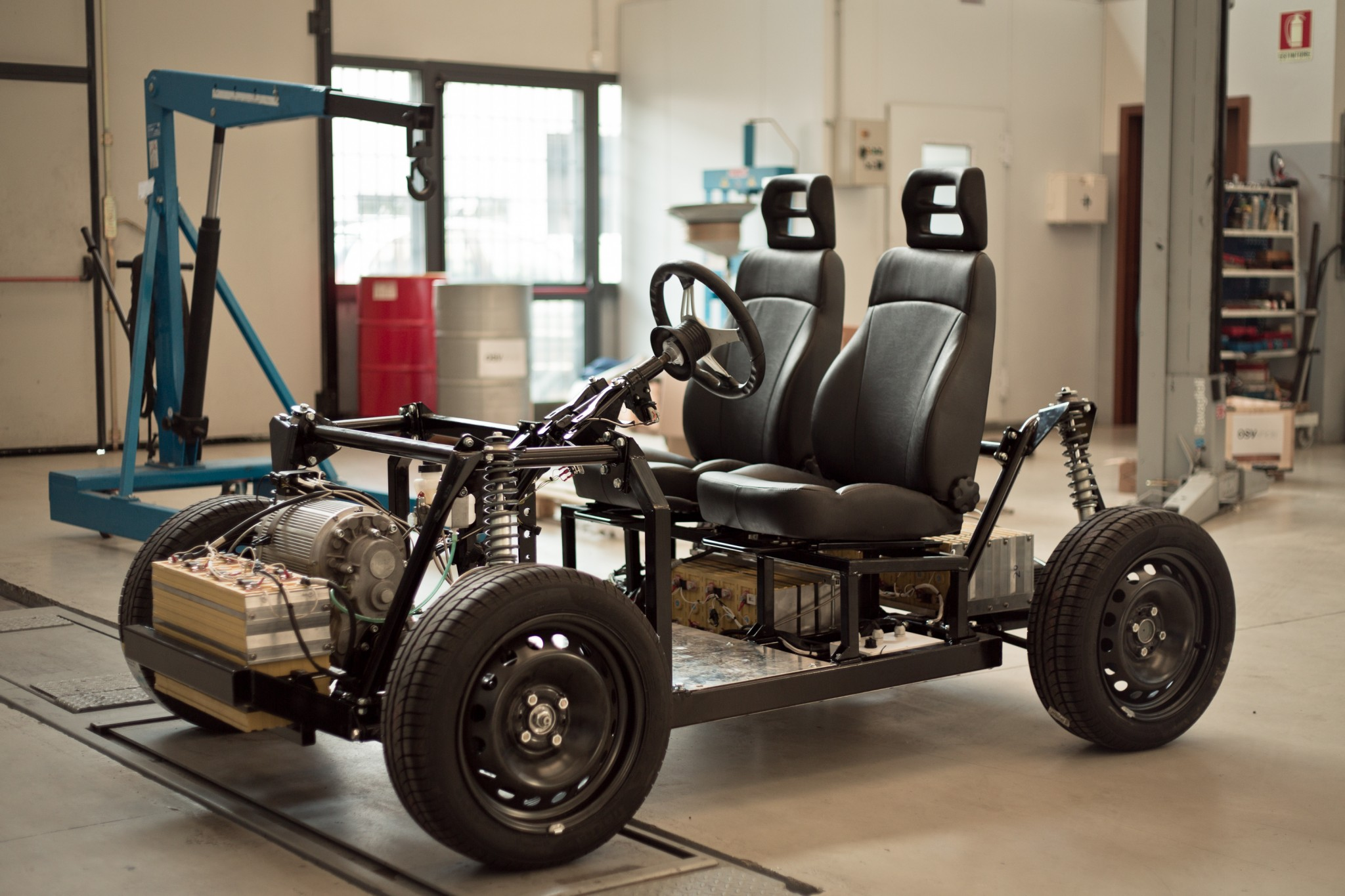 Do it yourself: an electric vehicle designer, which the driver will have to assemble himself